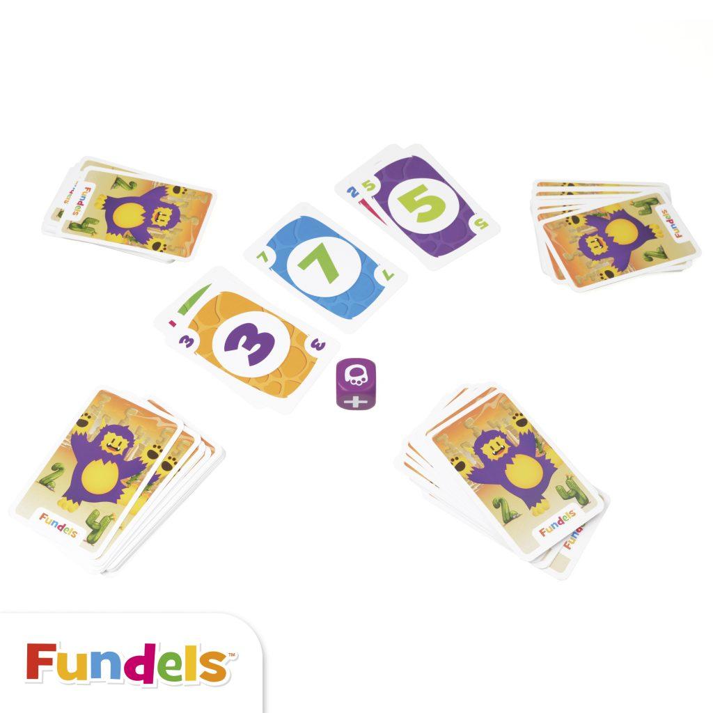 fundels: zabawa liczbami, gry dla czterolatka