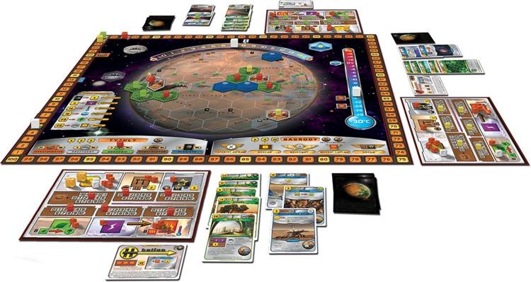 terraformacja marsa, gry planszowe dla geeków