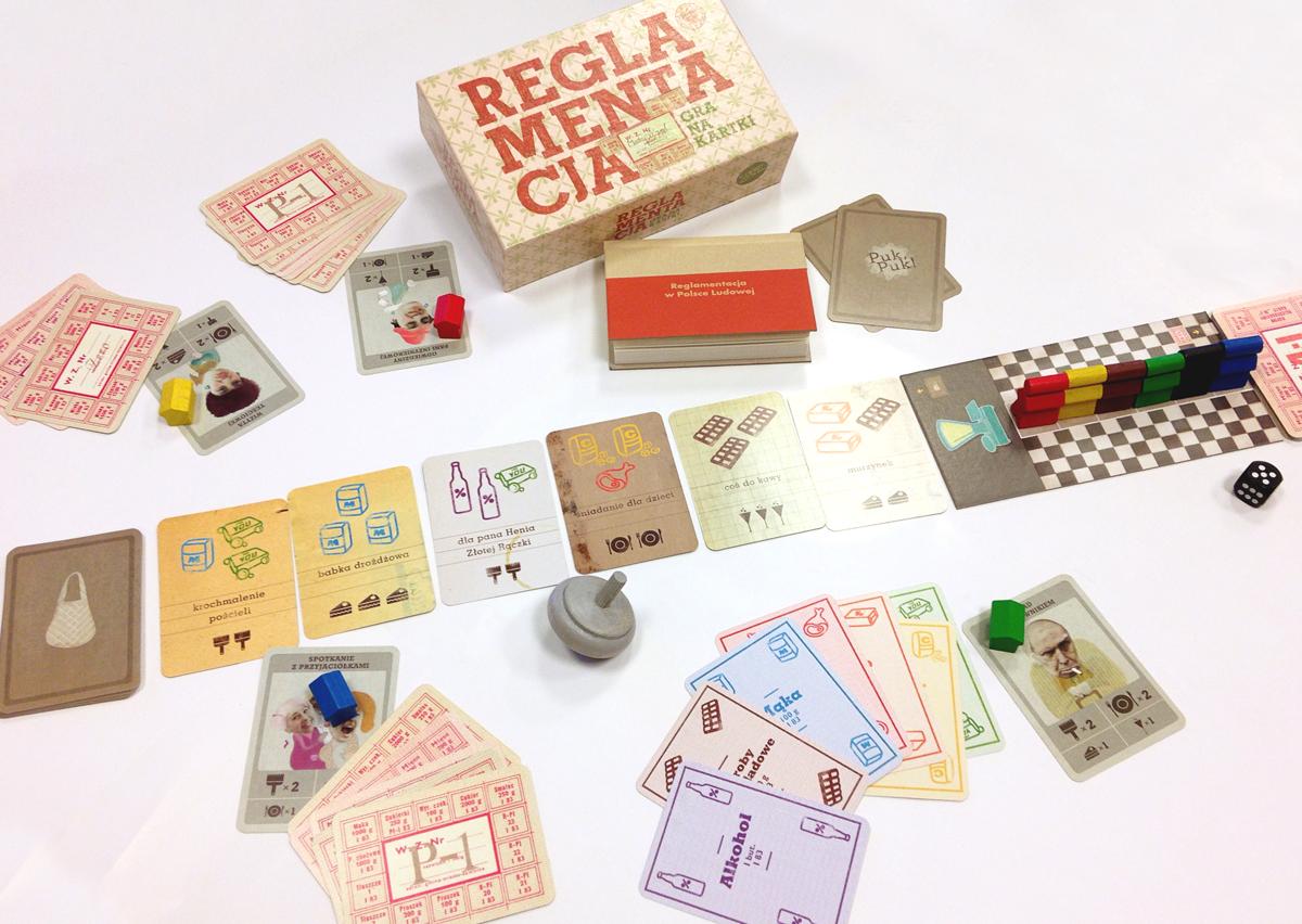 reglamentacja gra na kartki, gry z czasów prl-u