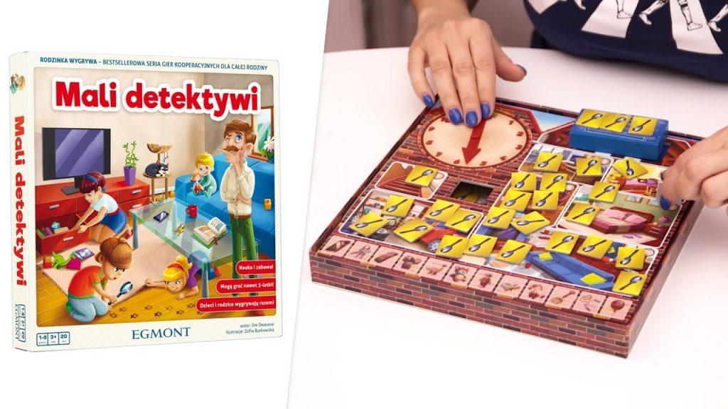 mali detektywi, od kiedy grać z dzieckiem w gry planszowe