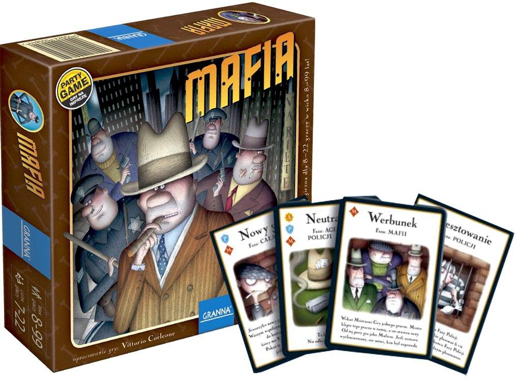 mafia, gra, gra na imprezę