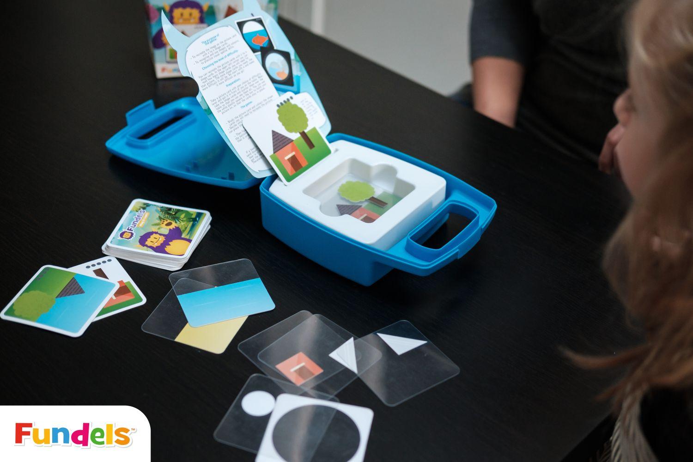 gry edukacyjne z serii fundels, kolory i kształty