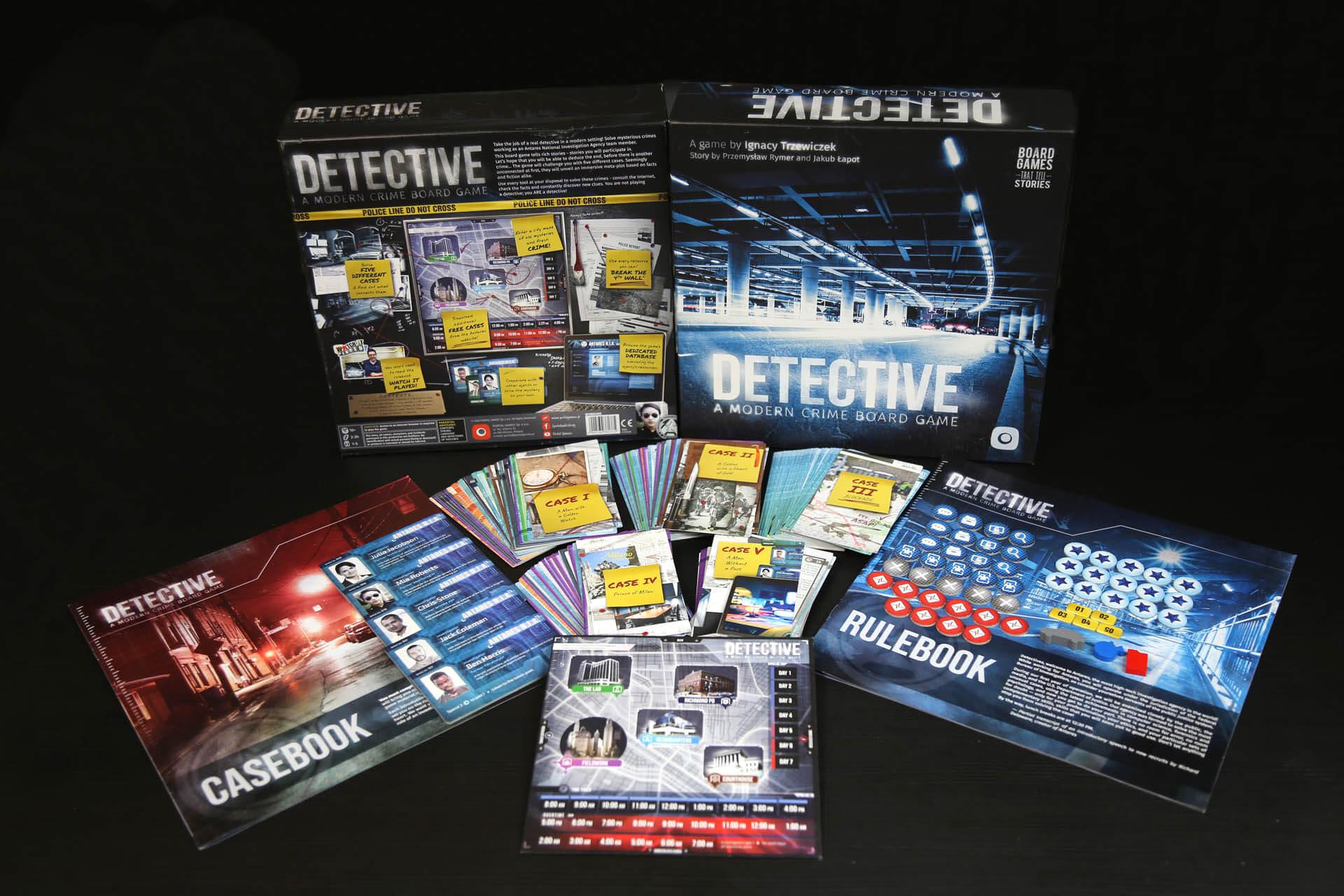 detektyw, gra planszowa