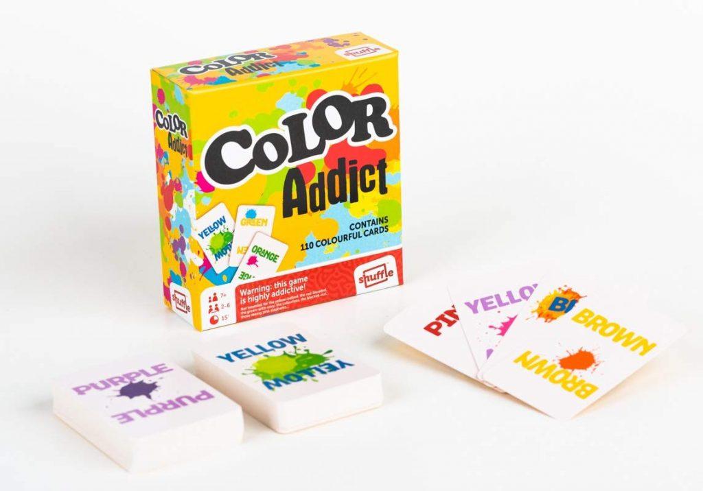 color addict, gra planszowa
