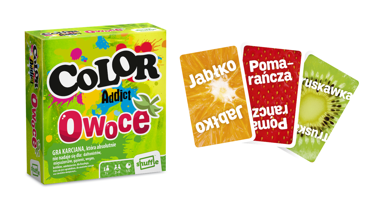 color addict owoce