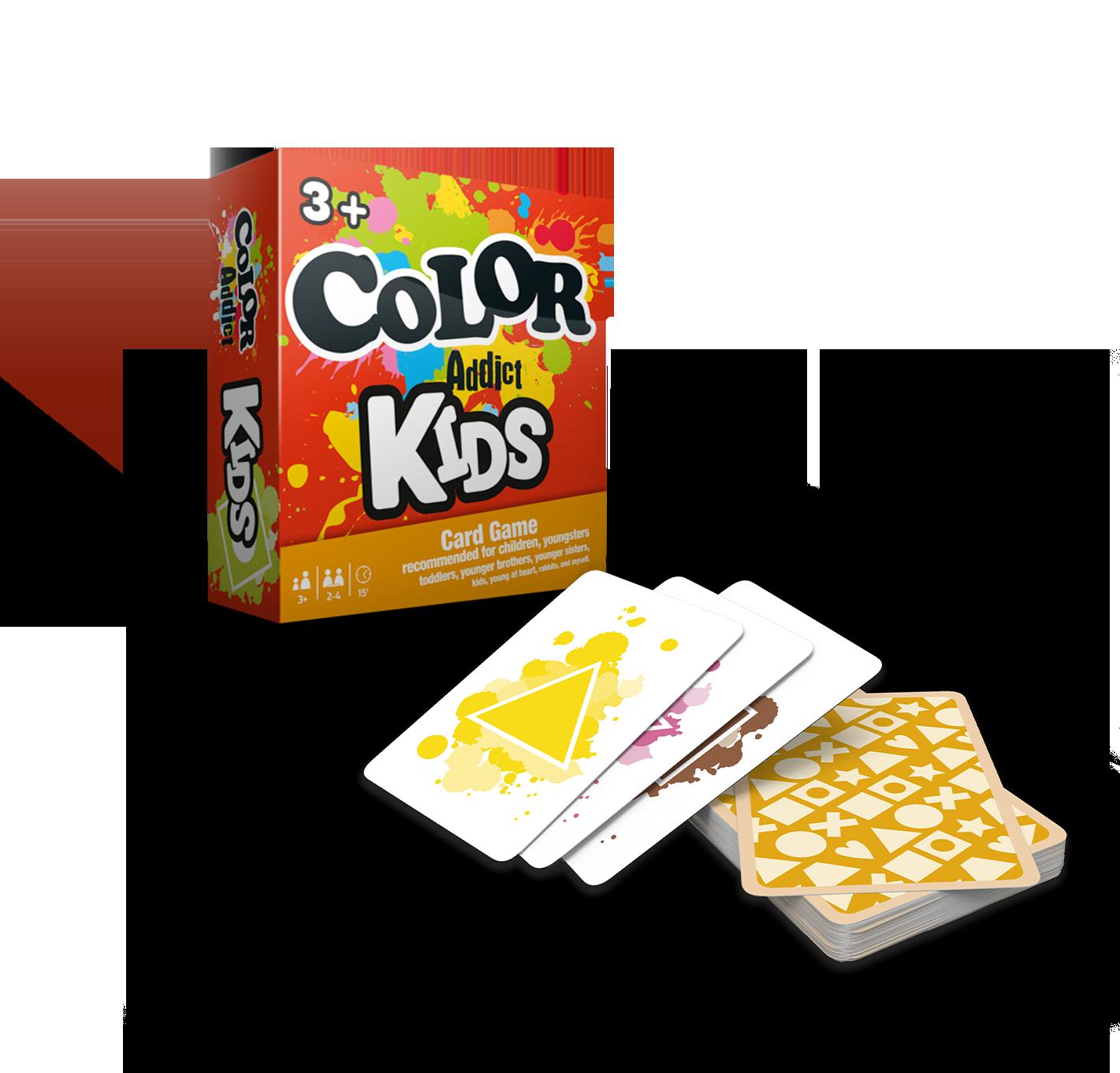 color addict gra cartamundi, gra dla dzieci, kreatywne gry dla dzieci, gry na prezent