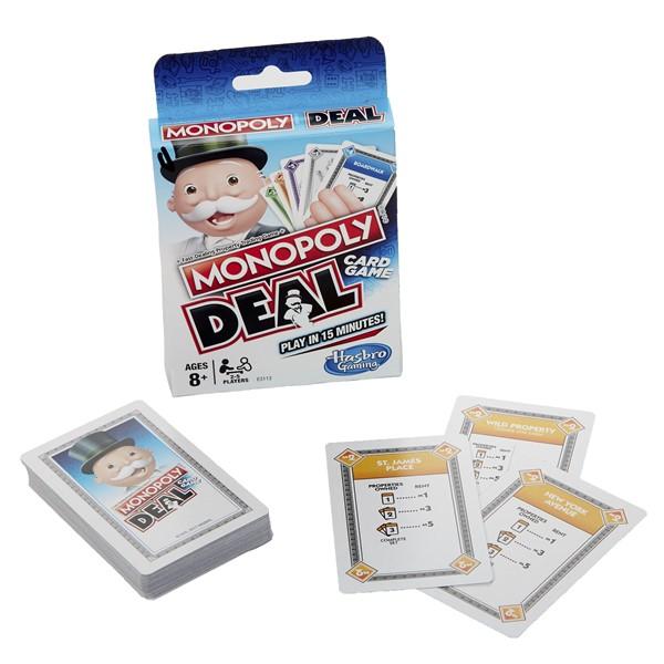 monopoly deal gra dla dzieci, pomysły na prezent, gra pod choinkę