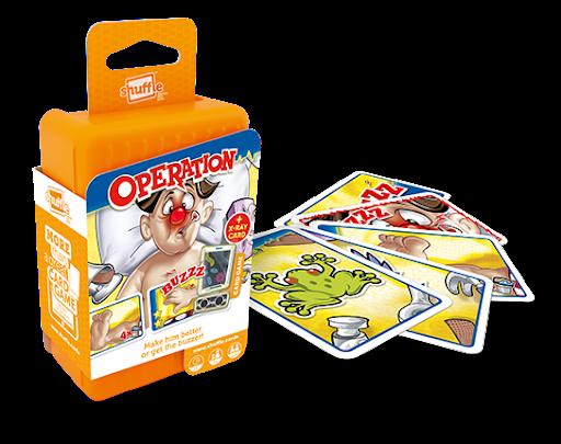 operation shuffle cartamundi, gry dla dzieci, gry na prezent