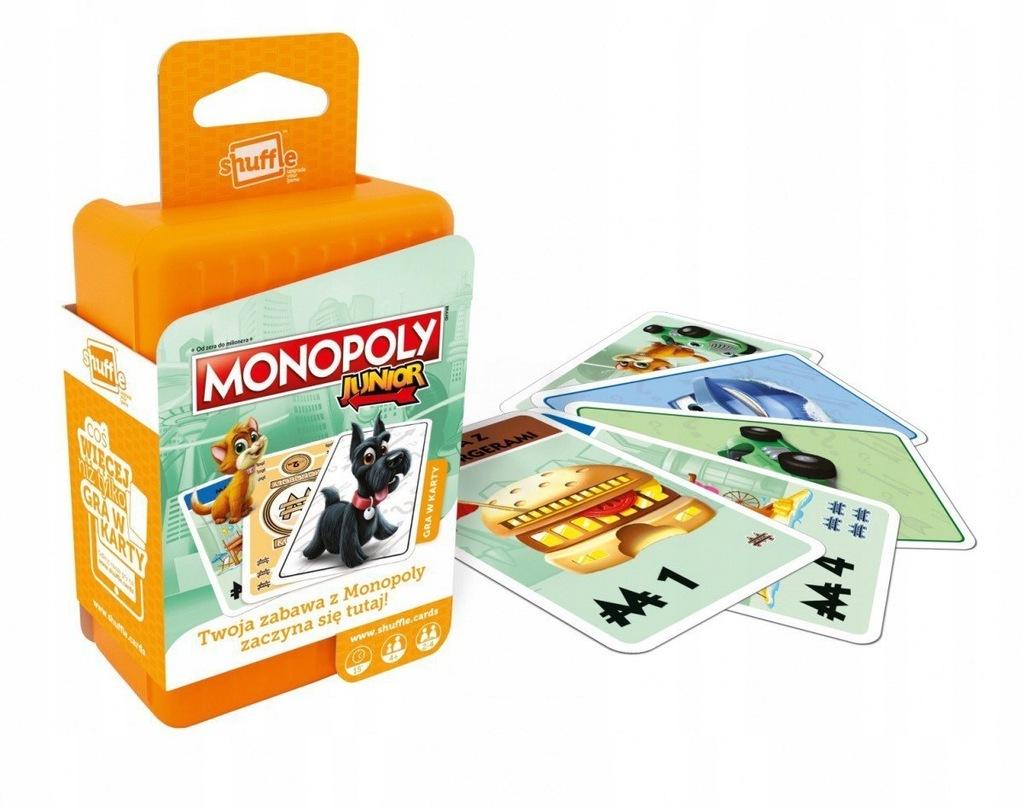 monopoly junior, gry dla dzieci, monopoly dla dzieci