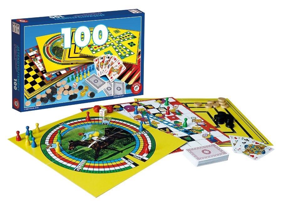 piatnik zestaw 100 gier cartamundi