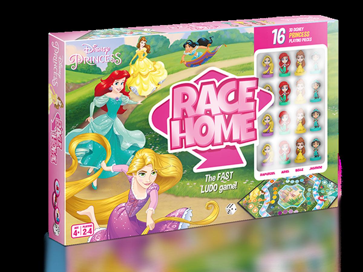 disney home race, gra z księżniczkami, cardamundi, gry dla dzieci