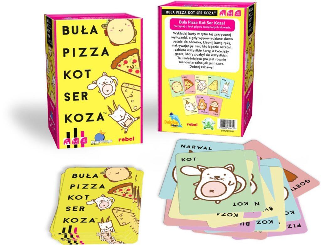buła pizza gra cartamundi